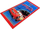 Red and Blue Disney Cars Lightning McQueen Beach and Bath Towel