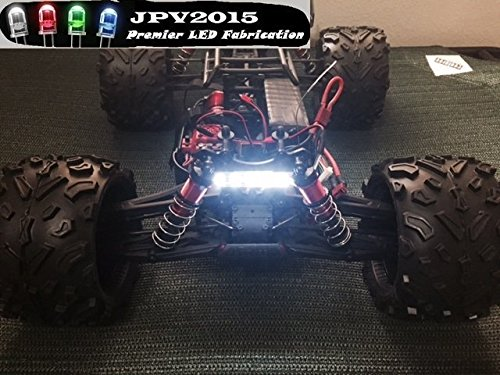 Genuine JPV2015 Product - Water-resistant RC LED WHITE 5 SMD LIGHT BAR FOR TRUCKS, CARS, CRAWLERS, AND MORE! - Premium Quality - Handmade in USA exclusively by JPV2015 (Proline Rc Rack compare prices)