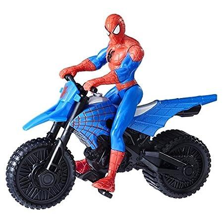 Hasbro France - B9706EU40 - Figurine Spiderman - et Véhicule - Taille 15 cm