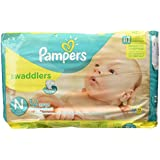 Pampers Swaddlers Diapers Size N - 32 CT