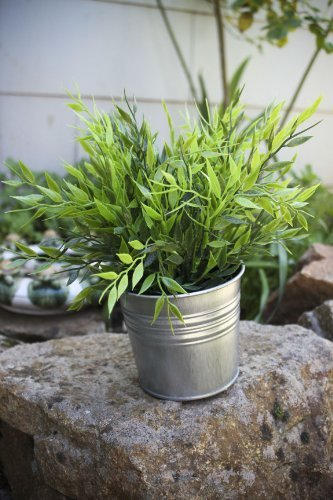 ikea-artificial-potted-plant-bamboo-11-lifelike-nature-houseplant-decoration-fejka-with-metal-pot