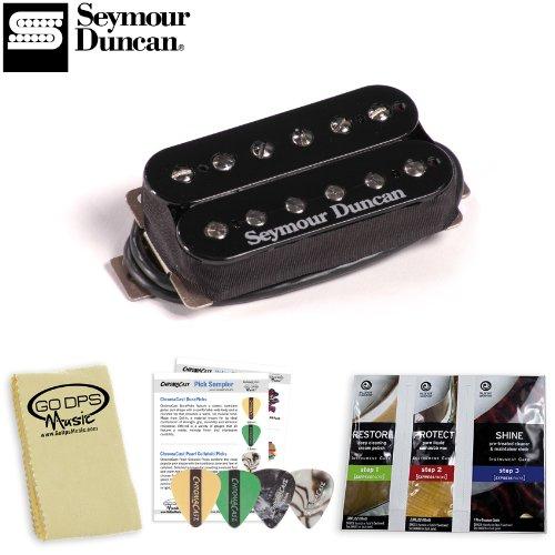 Seymour Duncan Sh-4 Jb Model Electric Guitar Pickup - Color: Black - Includes: Go-Dps Polishing Cloth, Planet Waves Guitar Polish & 3 Pick Sampler