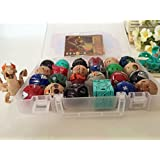 24 New Bakugan & 4 Metal Card in Bakucase All Different Amazing Gift By Bossteng