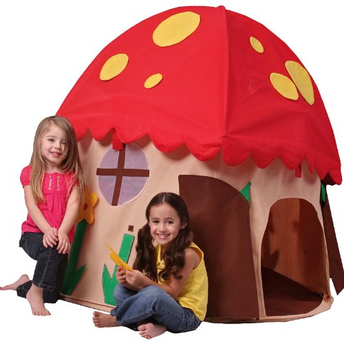 Bazoongi Mushroom House Fabric Playhouse
