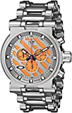 Oakley Men's 10-047 Hollow Point Orange Dial Watch