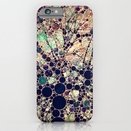 iPhone6ケース society6(ソサエシティシックス) Colorful tree loves you and me.  デザイナーズiPhoneケース 正規輸入品