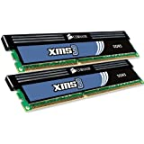 Corsair XMS3 4GB (2x2GB) DDR3 1600 MHz (PC3 12800) Desktop Memory (CMX4GX3M2A1600C9)