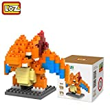#4: Pokemon Series Diamond Building Blocks Puzzle Action Figure 3D Bricks Learning Education Toys (Firedragon)