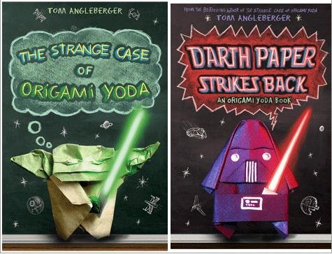 Origami Yoda Tom Angleberger Book Hard Soft Cover Star War Jedi ... | 363x475