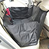 "PawHut 46""L Pet Hammock Dog Car Seat Cover Mat Puppy Cat Travel Seat Liner Barrier Black"