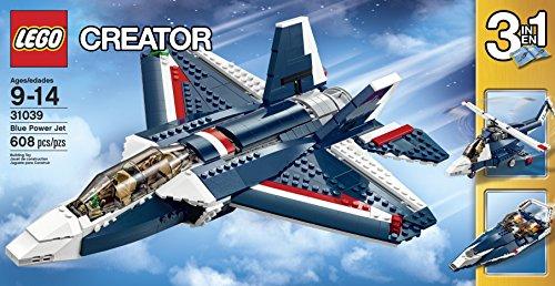 LEGO-Creator-31039-Blue-Power-Jet-Building-Kit
