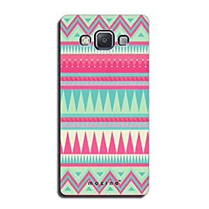 Mozine Pink Tribal Pattern printed mobile back cover for Samsung a5