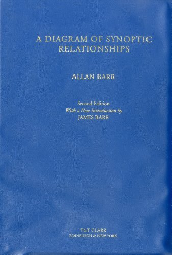 A Diagram of Synoptic Relationships (Book & Diagram), 2nd ed., by Allan Barr