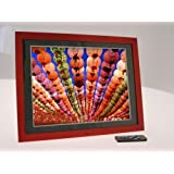 "15"" Cherry Wood Digital Photo Frames by Living Images [Electronics]by Living Images"
