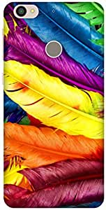 The Racoon Lean Feathery Delight hard plastic printed back case / cover for Letv Le 1s