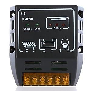 Solar Controller yueton 10a 12v/24v Solar Charge Controller yueton? Solar Panel Battery Regulator Safe Protection from Blovess