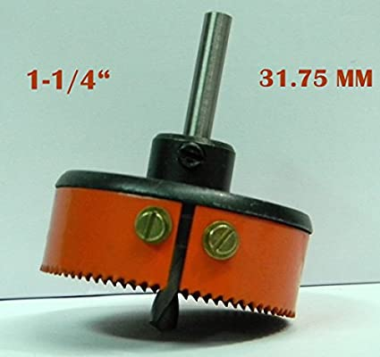 HSS Metal Hole Saw Cutter (31.757mm)