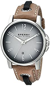 Sperry Top-Sider Men's 10018704 Seasider Analog Display Japanese Quartz Blue Watch by Sperry Top-Sider Watches MFG Code