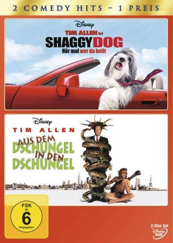 Shaggy Dog - Hör mal wer da bellt / Aus dem Dschungel in den Dschungel [2 DVDs]