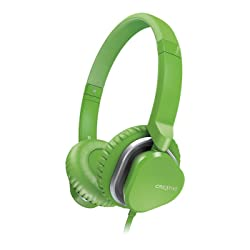 Creative Hitz MA2400 Premium Headset for Music and Calls (Green)