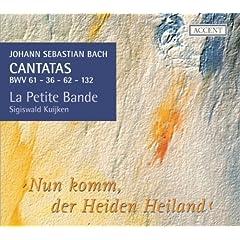 Nun komm, der Heiden Heiland, BWV 61: Overture - Nun komm, der Heiden Heiland (Chorus)
