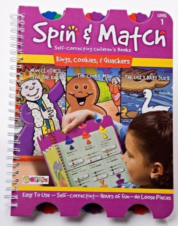 LWUPS SM-103 Spin & Match - Kings, Cookies & Quackers - 1
