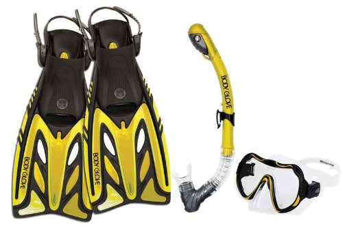 Body Glove Aquatic 12806SET-Yellow-Large/X-Large