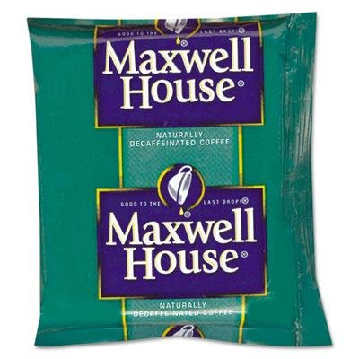 "Maxwell House - Coffee Original Roast Decaf 1.1Oz Pack 42/Carton ""Product Category: Breakroom And Janitorial/Beverages & Snack Foods"""