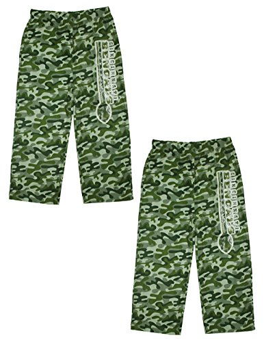 (Pack Of 2) Nfl Cincinnati Bengals Youth Sleepwear / Pajama Pants 12/14 Camo