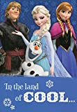 Greeting Card Disney Frozen In the Land of Cool...