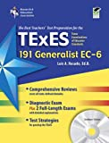 img - for Texas TExES Generalist EC-6 (191) with CD-ROM (TExES Teacher Certification Test Prep) book / textbook / text book