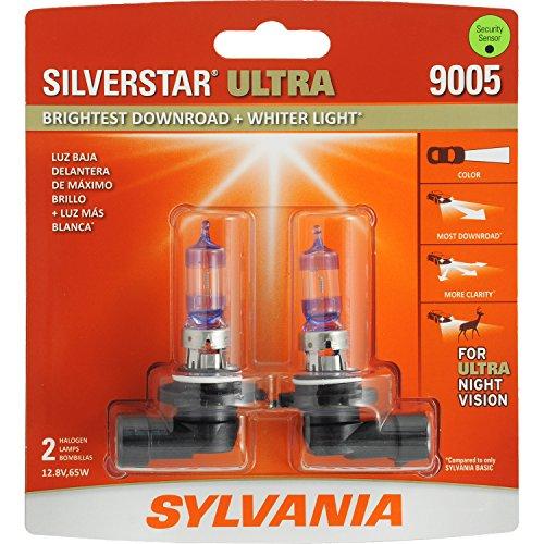 SYLVANIA 9005 SilverStar Ultra High Performance Halogen Headlight Bulb, (Contains 2 Bulbs) (2015 Gmc Sierra 1500 Headlights compare prices)