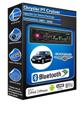 Chrysler PT Cruiser autoradio Alpine UTE 72BT mains-libres Bluetooth pour autoradio stéréo