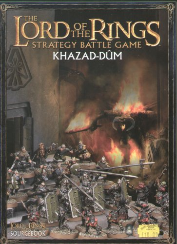 Games Workshop Lord of the Rings Khazad Dum Sourcebook