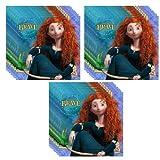 Disney Pixar Brave Lunch Napkins - 24 Guests