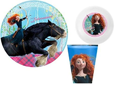 Disney Brave ~ Merida ~ 3-piece Mealtime Set ~ ZAK