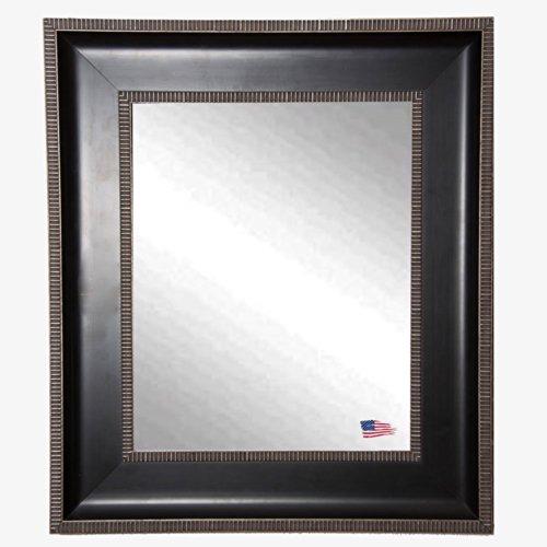 American Made Rayne Black Parma Wall Mirror, 29.25 X 35.25 front-920481