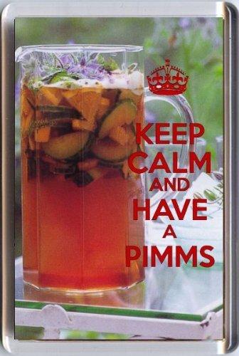 Pimm's refrigerator magnet