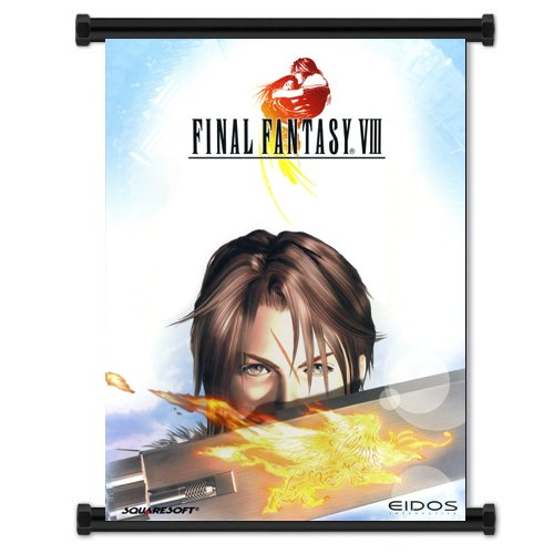 "Final Fantasy Viii Game Fabric Wall Scroll Poster (32""X42"") Inches"