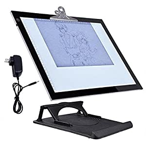19 led light board pad stencil drawing for Lightbox amazon
