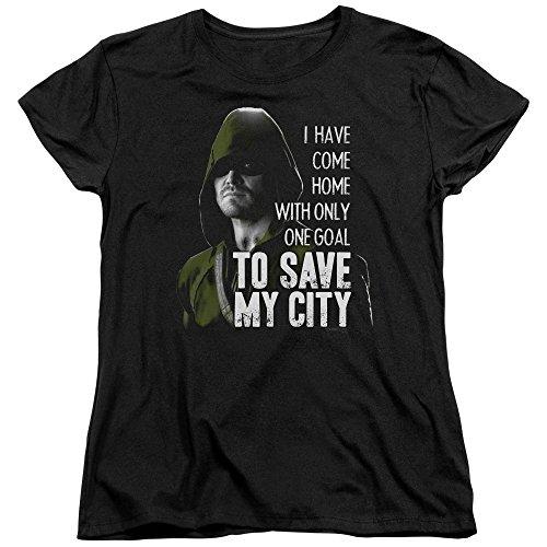 Green Arrow -  T-shirt - Donna nero Small