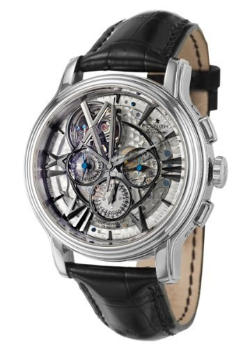 Zenith Academy Tourbillion Quantieme Perpetuel Men's Watch 65-1260-4033-77-C611