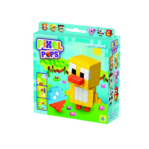 The Orb Factory Pixel Pops Duck Building Kit - 1