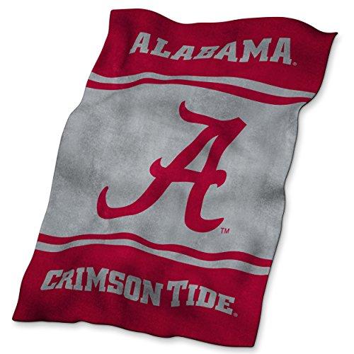 NCAA Alabama Crimson Tide Ultrasoft Blanket Alabama Fleece Throw