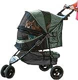 Pet Gear No-Zip Special Edition Pet Stroller, Sage