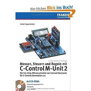 eBook Cover für  Messen Steuern und Regeln mit C Control M Unit 2