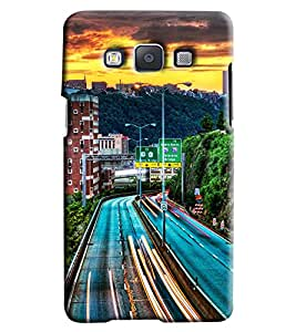 Clarks Road View Hard Plastic Printed Back Cover/Case For Samsung Galaxy A3