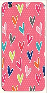Attractive multicolor printed protective REBEL mobile back cover for iPhone 6 D.No.N-T-4658-IP6
