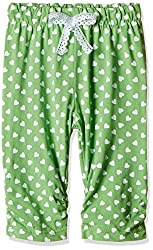 Little Kangaroos Baby Girls' Leggings (PL-11884_Green_3 months)