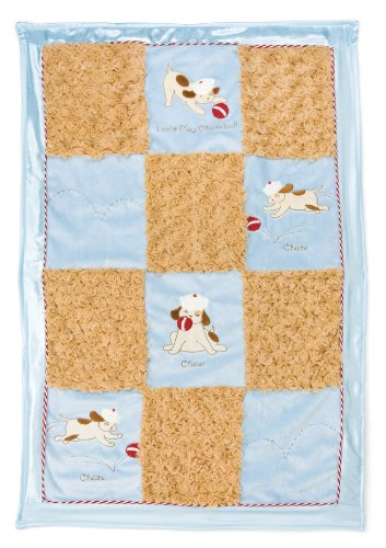 Bunnies by the Bay Stroller Blanket, Skipit's Chaseball (Discontinued by Manufacturer)
